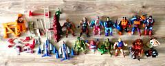 Thrift find: vintage MOTU stuff... (harrycobra) Tags: vintage toys thrift actionfigures motu find