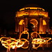 Fire Artists at the Palace of Fine Arts