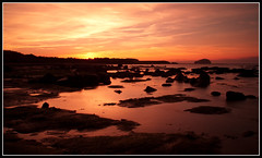 Sunset at Scoughall