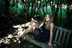 Susanna (xibalbax) Tags: portrait woman girl canon bench dress legs 7d blackdress 1755mm canoneos7d