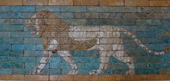 Babylonian lion (marc's pics&photos) Tags: paris france history geotagged ancienthistory ancient louvre iraq middleeast babylon mesopotamia reallyold ishtargate nebuchadnezzar neareast ancientmesopotamia ancientiraq ancienthistoryofthemiddleeast ancienthistoryoftheneareast