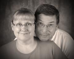 Grandparents (theothersavage) Tags: family portraits fun olympus grandparents backdrop zuiko grandaughter e5 1260mm