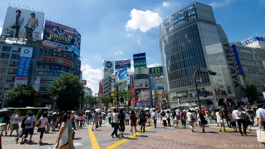 Shibuya in the Summer