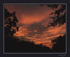 _DSC2729_R1_C1-LR (Mark L 2010) Tags: sunset sky orange clouds katy katysunset 08062012