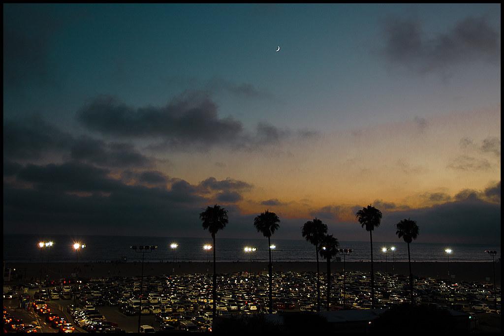 Santa Monica sunset - Santa Monica sunset