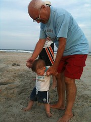 Walking with Grandpop