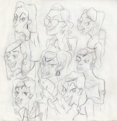 CHARACTER SKETCH 2 (Jessica Marcell) Tags: girls female pencil design sketch drawing character essex