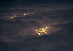 Off The Grid (Nicole Fallek: Photography) Tags: city chicago clouds plane airplane grid photography aerialphoto citygrid fromthesky headintheclouds throughtheclouds photosfromplanes nicolefallek inspiringphotosofclouds cloudsfromanairplane