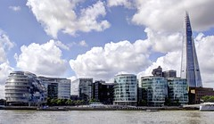 """""""Glass Skyline"""" (Dareal Pics) Tags: city uk london tower hall grande tour skyscrapers britain united great bretagne kingdom games ciel londres uni olympic olympics shard 2012 gratte jeux olympiques royaume"""