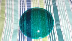 Siemens green signal lens (RS 1990) Tags: light green glass lens amber traffic siemens rubber plastic seal segment signal southaustralia aldridge visor lenses oring august2012