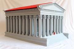 Temple of Claudius, Colchester (peggyjdb) Tags: architecture temple worship roman capital column colchester legion trinovantes celts claudius briatin camulodunum steam2012