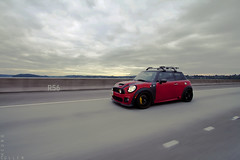 R56 Re-Visited II (CullenCheung) Tags: seattle washington oz mini cooper i90 minicoopers jcw stoptech rollingshot r56