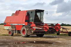 Massey Ferguson 31XP Combine Harvester (Shane Casey CK25) Tags: county autumn ireland irish field weather hp corn nikon farm cork farming grain harvest august crop combine land beaten contractor ferguson harvester 2012 massey d90 castletownroche 31xp