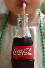 232/366 sip (ajbrusteinthreesixfive) Tags: pink green glass girl up canon mouth georgia necklace bottle toddler oz mark iii straw 8 coke sweat bead 5d condensation cocacola pause contour pucker bendy sip bendable refresh nyla 5dm3