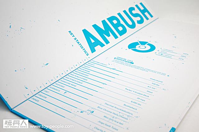 threeA – 鋼鐵擂臺:突擊者(AMBUSH) 開箱報告