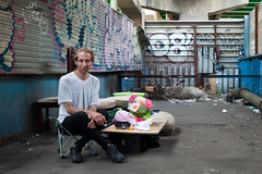 Michael: Hunts Point, Bronx (Chris Arnade) Tags: new york city newyorkcity bronx addiction huntspoint chrisarnade facesofaddiction httpwwwhpac10474orgyoucanhelp