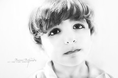 High key (Marwan~al-luhabi,) Tags: bw black face high nikon key child sad wight marwan d7000 alluhabi