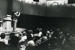Lecture by Edward Teller (llnl photos) Tags: starwars teller nuclearbomb manhattanproject llnl manhattenproject hydrogenbomb edwardteller lawrencelivermore