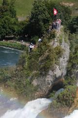 Rheinfall ( Wasserfall / Waterfall ) des Rhein bei Neuhausen am Rheinfall im Kanton Schaffhausen und Zrich in der Schweiz (chrchr_75) Tags: rio ro river schweiz switzerland waterfall europa suisse wasserfall swiss fiume august rivire slap reno christoph svizzera fluss rhine cascade rhein strom rin rijn 2012 cascada  1208  waterval rivier  suissa joki rzeka  flod vattenfall rhin vodopd chrigu wodospad vandfald rhenus chrchr hurni chrchr75 chriguhurni albumwasserflle august2012 chriguhurnibluemailch albumrhein hurni120826 albumwasserfllewaterfallsderschweiz albumzzz201208august