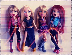 Bratz Totally Tattooed and Strut it! (Drekitude) Tags: it strut totally bratz cloe tattooed meygan fa12