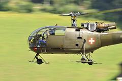 Aérospatiale Alouette 3 (Sébastien Locatelli) Tags: 3 nikon force swiss air bleu di alouette 70300mm tamron stephan vc berner usd 2012 sankt luftwaffe simmental hunterfest aérospatiale d5000 oberlend