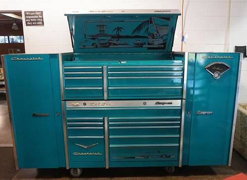 Snap-On Chevy Bel-Air Edition 18 Drawer Rolling Toolbox ($4,480.00)