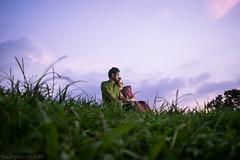 || Love Birds || (NahidHasan95) Tags: romance couple sky grass color serene costume lastlight human outdoor