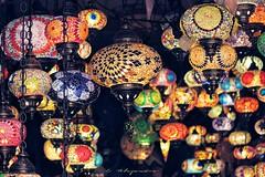 Alcaicera de Granada (Por ESTEBAN ALEJANDRO) Tags: alcaiceria granada lamps lamparas arabe andalucia spain zoco lights
