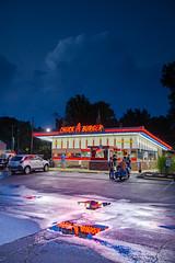 cab-99 (DiPics) Tags: car culture chuck burger cruise joint return vintage chrome americana wheels summer st louis overland chapels rock road roll metal neon
