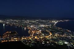 Hakodate, the world's best 3 night views (yukky89_yamashita) Tags: 函館 北海道 日本 函館山展望台 夜景 世界三大夜景 view night light hakodate hokkaido japan nightview travel trip