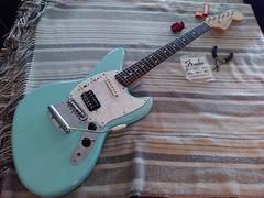 New Strings (shortscale) Tags: fender guitar jagstang strings