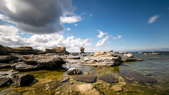 Coastline (JH') Tags: nikon nikond5300 nature d5300 landscape longexposure exposure summer sky sigma heaven 1020 clouds coast ocean water rocks sea
