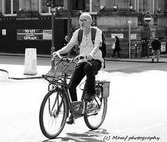 Phil Collins' twin brother cycling in Leeds? (MAMF photography.) Tags: city cyclist cycle bicycle blancoynegro blanco blancoenero blackandwhite blackwhite britain bw biancoenero england enblancoynegro flickrcom flickr google googleimages gb greatbritain inbiancoenero image leeds ls1 leedscitycentre mamfphotography mamf monochrome nikon noiretblanc noir negro north nikond7100 northernengland onthestreet pretoebranco road sex schwarzundweis schwarz street town uk unitedkingdom upnorth westyorkshire yorkshire zwartenwit zwartwit zwart candid
