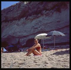 Tropea, Italy (OQ62) Tags: yashica mat124 g tlr fuji provia 100 film analog 120film tropea italy italia calabria mare beach mediumformat slidefilm epsonv700 yashicamat124gtlr fujiprovia100 yashicamat124g