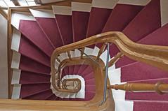 Spiral Stairway / Wendeltreppe (Runemaker) Tags: hotel brgerpalais ansbach bayern bavaria wendeltreppe treppenhaus stairway staircase stairs treppen archictecture germany deutschland