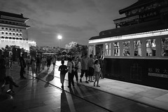 One Night in Beijing (sunnywinds*) Tags:          beijing china night nightscene leica summilux people summer old train tram monochrom typ246 outdoor capital