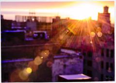 The Sun Poured Down Like Honey (swanksalot) Tags: sunset sunlight sunsetpr0n light streaming westloop chicago availablelight