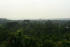 West Mebon from Phnom Bakheng (Neil Noland) Tags: cambodia siemreap angkor temple ruin westmebon phnombakheng
