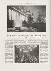 1907-12-01. Le Sport universel illustr 796 (foot-passenger) Tags: salondelautomobile 1907 france bnf gallica