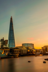 The shard, London (cre8tiveArt-Photography) Tags: landscape cityscape sunset long exposure