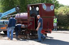 2 (Hampton & Kempton Waterworks Railway.) Tags: darent arrives loop