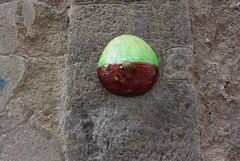 Intra Larue 798 (intra.larue) Tags: intra urbain urban art moulage sein pecho moulding breast teta seno brust formen tton street arte urbano pit espanya italie italy italia napoli naples
