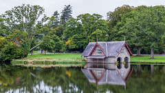 Boat house at Carton. (Dubspotter2015) Tags: carton house boathouse maynooth lake nature landscape sinking scenery ireland countryside estate water reflections waterscape trees autumn cokildare