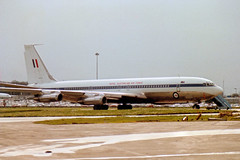 A20-627 Boeing 707-338C cn 19627 ln 707 Royal Australian Air Force Stansted 12Mar89 a (kerrydavidtaylor) Tags: boeing707 boeing707300c raaf egss stn