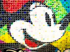 Minnie (Thad Zajdowicz) Tags: minniemouse creativecommons stylized indoor inside zajdowicz monrovia california 366 365 cellphone photoshopexpress availablelight cartoon color