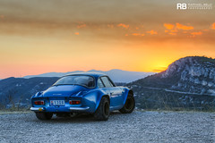 Renault Alpine A110 Berlinette 1600S (Raphal Belly Photography) Tags: renault alpine a110 berlinette 1600s 1600 blue bleue bleu a 110 rb raphal monaco principality principaut mc montecarlo monte 98000 carlo hotel de paris french riviera south france luxury supercar supercars spotting car cars voiture automobile raphael belly canon eos photographie photography casino passion shooting sance photo shoot photoshoot 98 la turbie sunset coucher soleil sun
