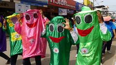 'Phi Ta Khon'.. Ghost Mask Parade,  Loie,  Thailand (larryoien) Tags: loie thailand phitakhon ghostmask parade lumix lx5 travellight compactdigital totallythailand