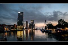 Rotterdam (Pjerry ;)) Tags: rotterdam holland netherlands d800 nikon nikkor 2470mmf28g pjerry pjerrryt photopjerry pierretimmermans photography sunset noordereiland erasmusbrug explored