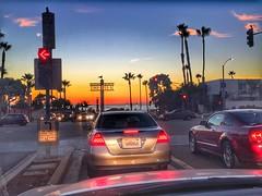 Summer is back ! Redondo sunset #southbay #hdr (shinnygogo) Tags: ilovela socal automobile traffic twilight september 2016 redondobeach losangeles southbay sunset hdr street