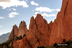 Natural beauty (donnasimonviii) Tags: redrock geological formations colorado hogbackformations canon ecologicalresource park mountains